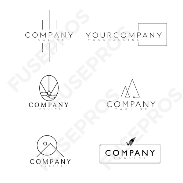 6_Pack_Minimalist_Logo_Designs